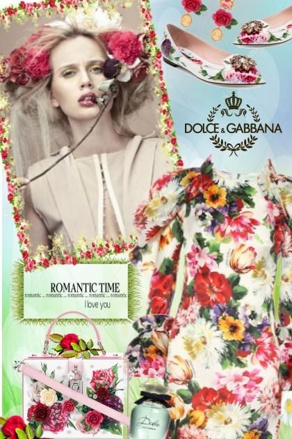 D&G Floral- Modna kombinacija