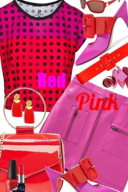 Pink & Red- Fashion set