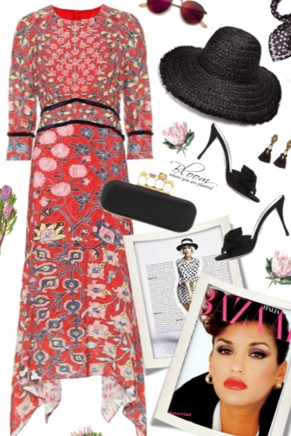 Summer Blooms- Fashion set