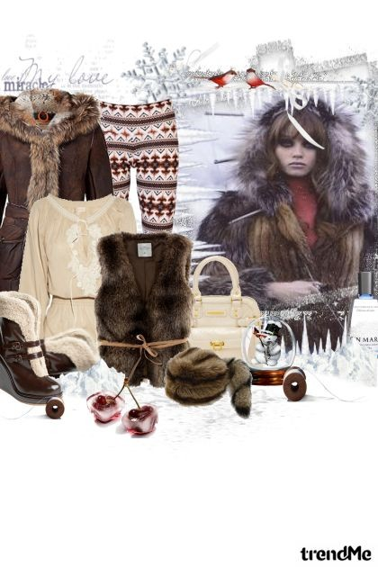 russian winter- Fashion set