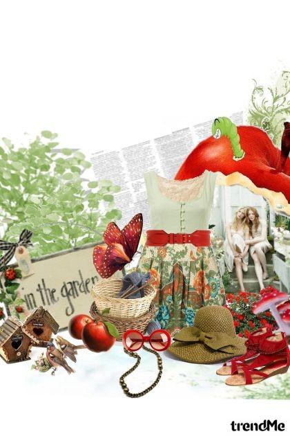magic in the garden- Fashion set