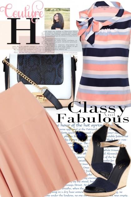 Classy and fabulous- Fashion set