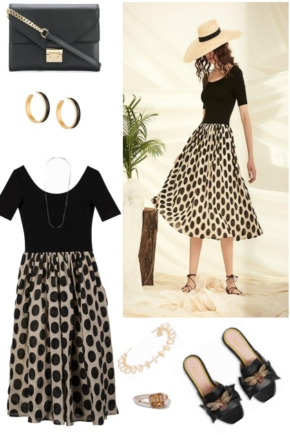 SUMMER SUNDAY DRESS- Fashion set
