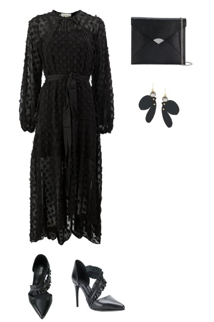 BLACK SUMMER- Fashion set