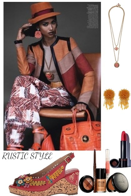 RUSTIC STYLE- Fashion set