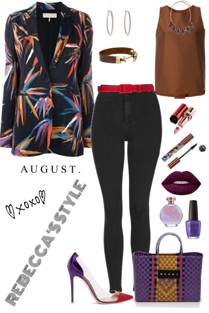 AUGUST GOING OUT IN STYLE- Modna kombinacija