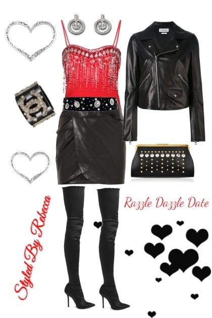 Razzle Dazzle Date- Fashion set