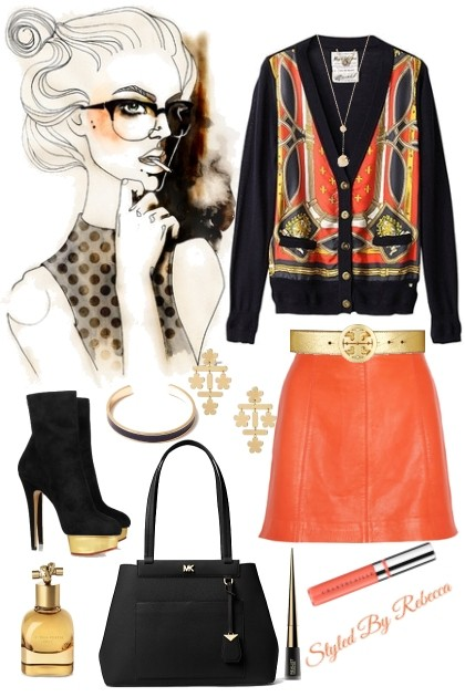 Work In Chic Cardigans- Fashion set