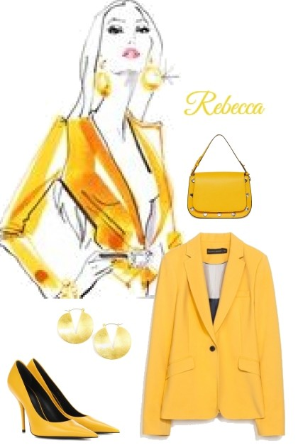 Boss in Yellow- Fashion set
