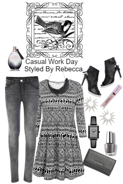 Casual work day for Friday 1/5/19- Fashion set