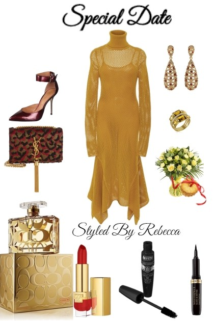 Special Date Inspired Look- Fashion set
