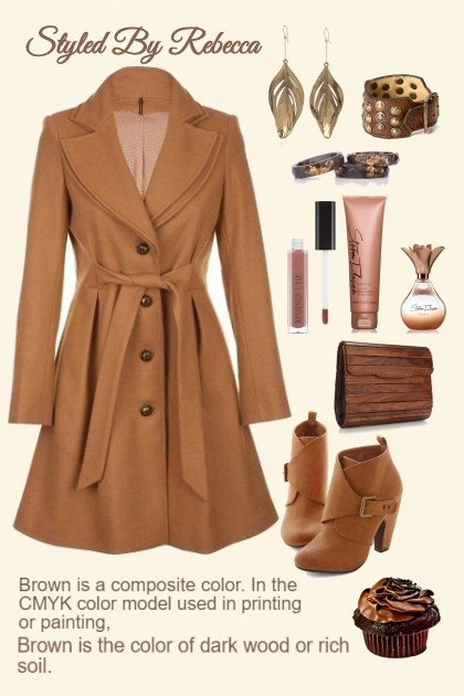 Brown Is In 2019- Fashion set