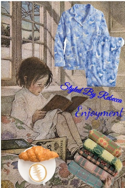 Enjoyment pj's- Fashion set