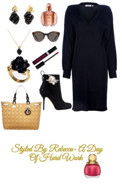 Work Style In Dior-Monday- Fashion set