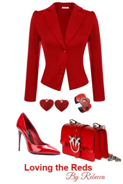 Loving The Reds 2/6- Fashion set