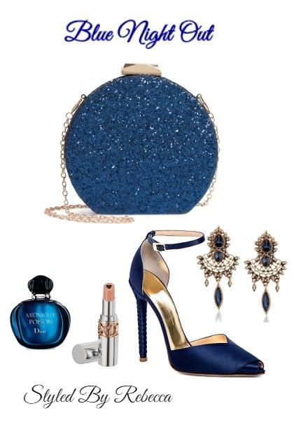 Blue Night Out- Fashion set