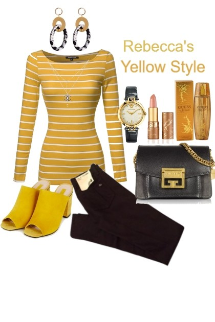Yellow Style Out and About- Fashion set