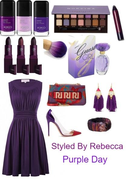 Purple Day- Fashion set