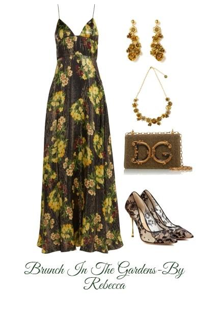 Brunch In The Gardens- Fashion set