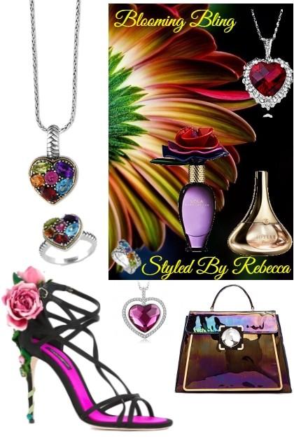 Blooming Bling-Spring Accessories- Combinaciónde moda