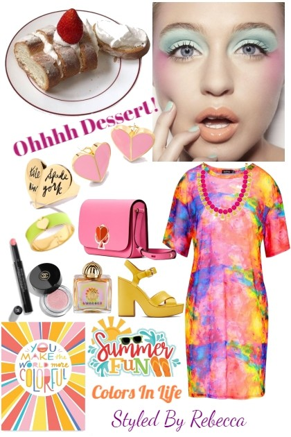 Ohhh Dessert!- Kreacja