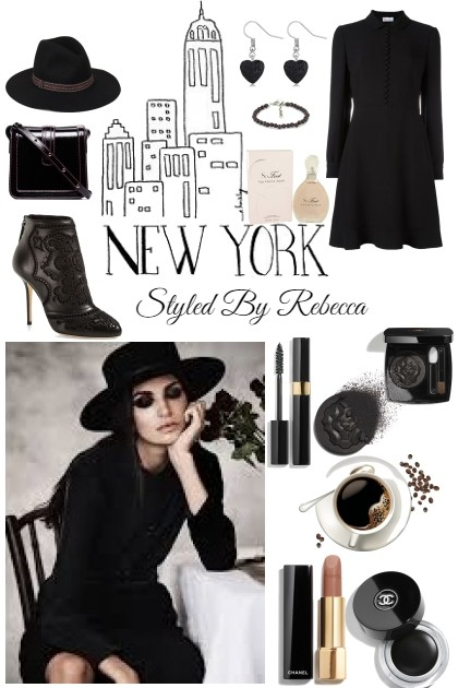New York Coffee- Fashion set