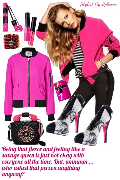 Savage Pink- Fashion set
