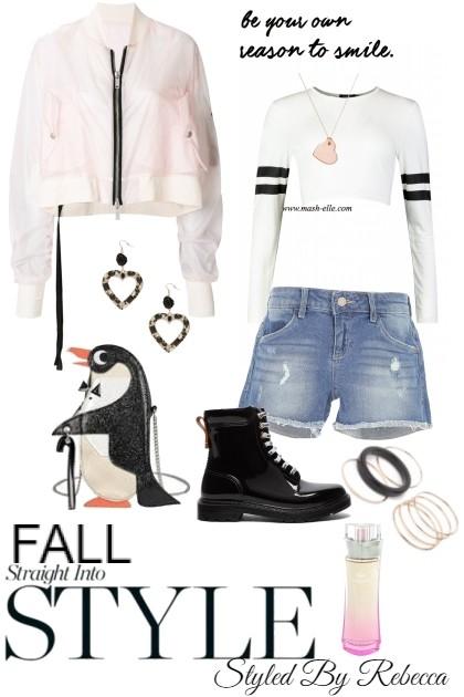 Fall Straight Into Style- Fashion set