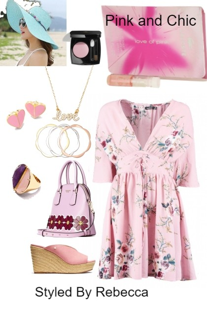Saturday Is Pink and Chic Day- Combinazione di moda