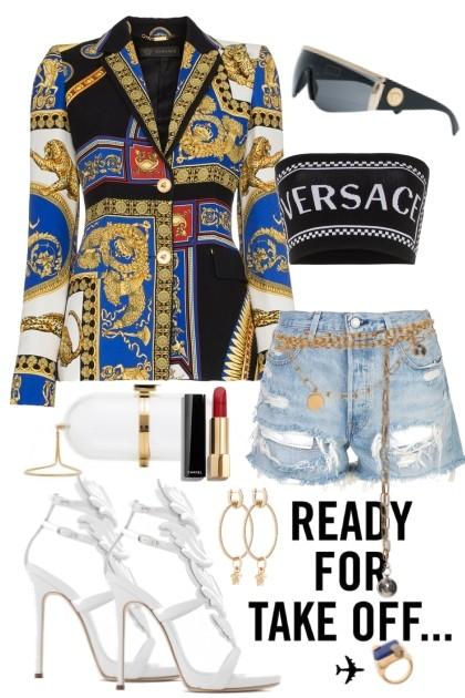 Versace jacket- Combinazione di moda