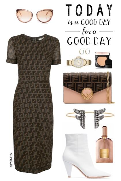 Fendi dress- Fashion set