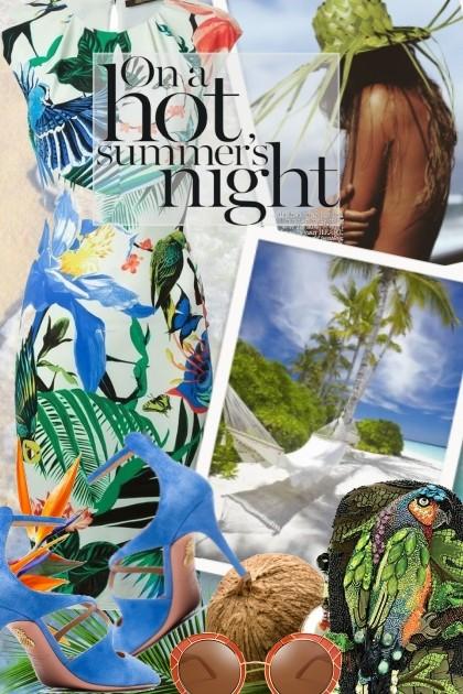Hot summer's night- Fashion set