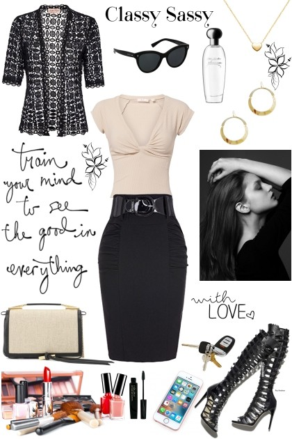 Classy Sassy- Combinazione di moda