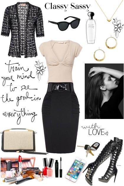 Classy Sassy- Модное сочетание
