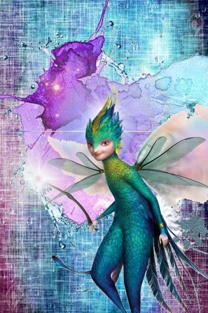 the fabric-stain fairy- combinação de moda