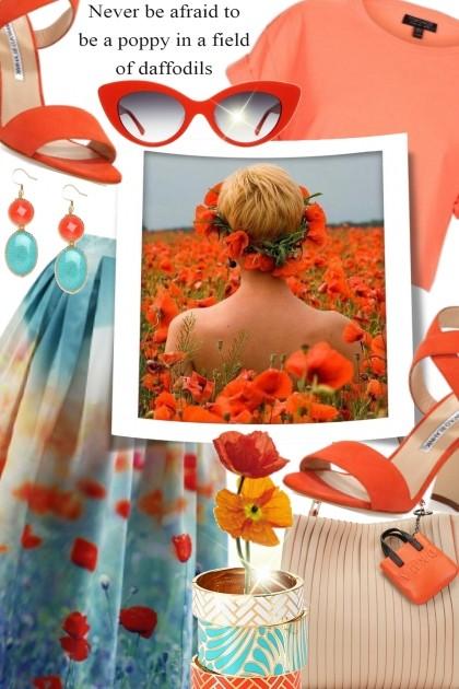 Be a Poppy- Fashion set