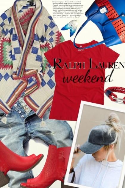 Ralph Lauren Weekend- combinação de moda