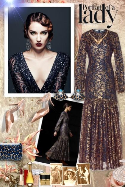 the Dowager Countess- Modna kombinacija