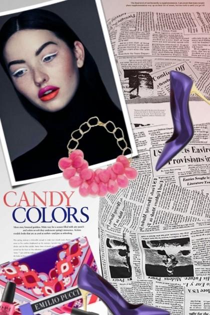 Candy Colors- Modna kombinacija
