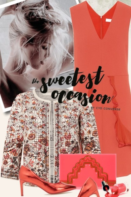 the sweetest occasion- Fashion set