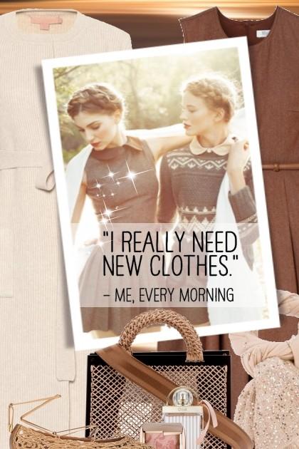 I REALLY NEED NEW CLOTHES- Fashion set