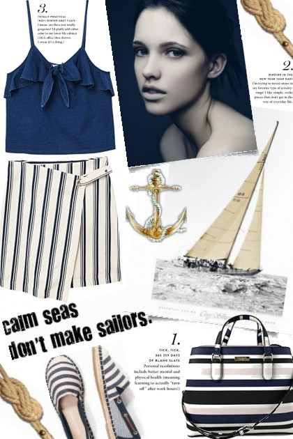 Calm Seas- Fashion set