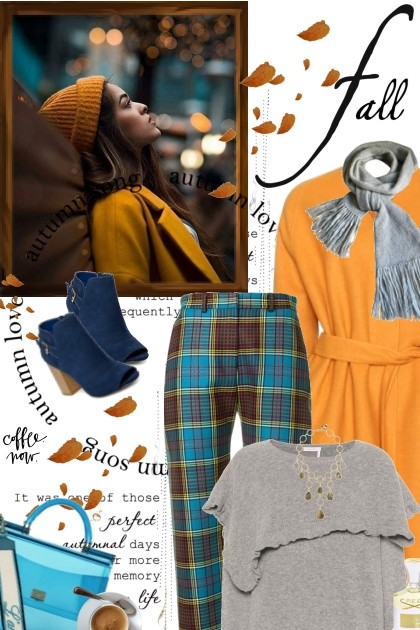 Fall Coffee- Fashion set