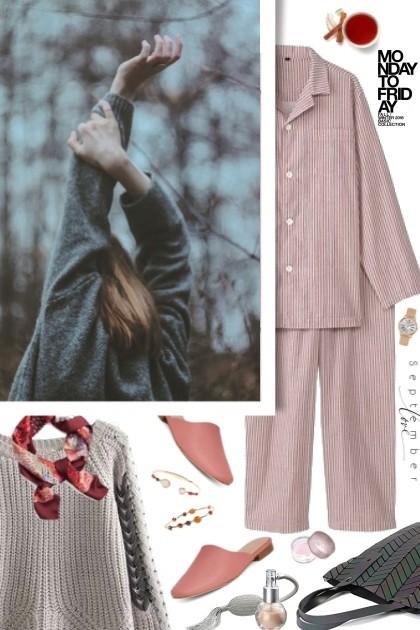 Cozy September- Fashion set
