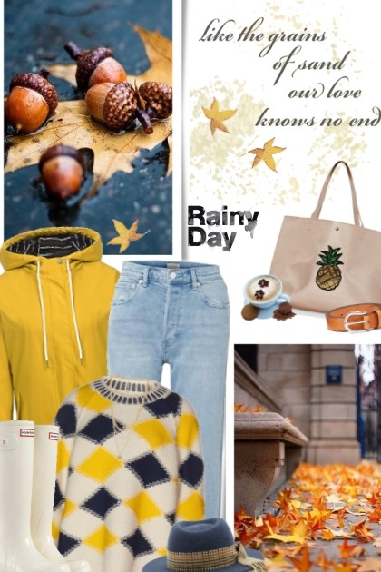 Rainy Day- Fashion set