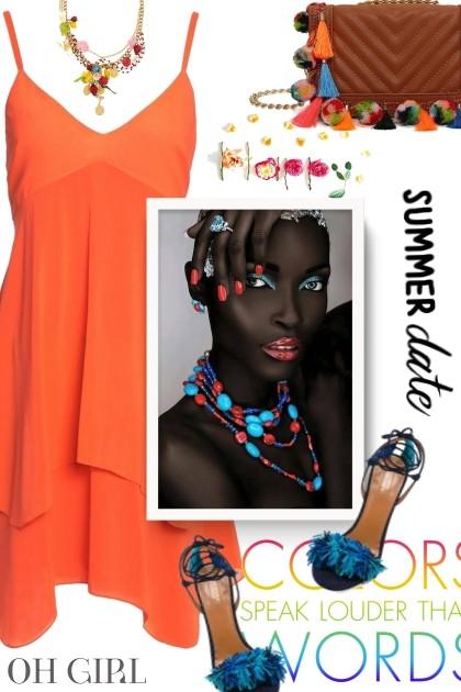 ad35a3c92f0 Speak Color - Spring Summer 2018 Collection - Renita - trendMe.net