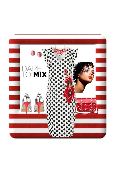Dare To Mix- Fashion set