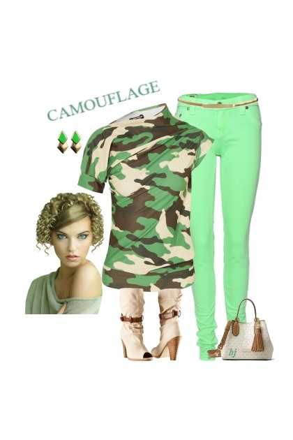 Camouflage - Fashion set
