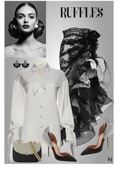 Ruffle Skirt- Fashion set