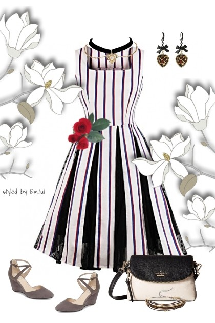 Charmed by Black and White- Fashion set
